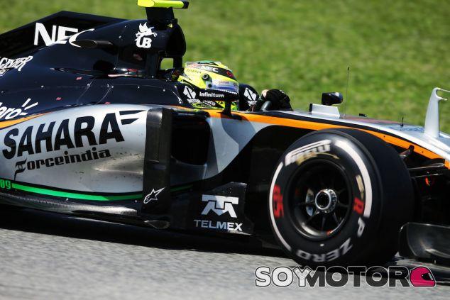 Sergio Pérez en el Circuit de Barcelona-Catalunya - LaF1