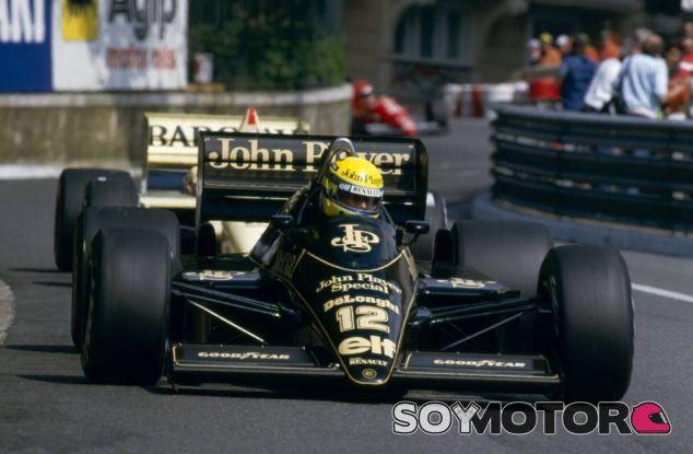 La Lotus moderna ha recuperado los colores de los tiempos de JPS, pero no existe ningún patrocinio - LaF1
