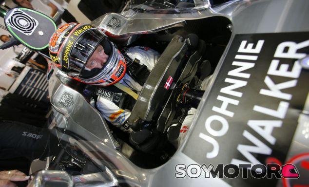 McLaren desmiente la marcha de su patrocinador Johnnie Walker