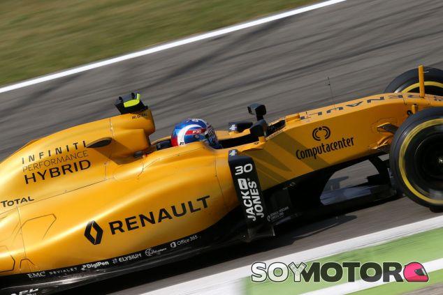 Jolyon Palmer en Monza - LaF1