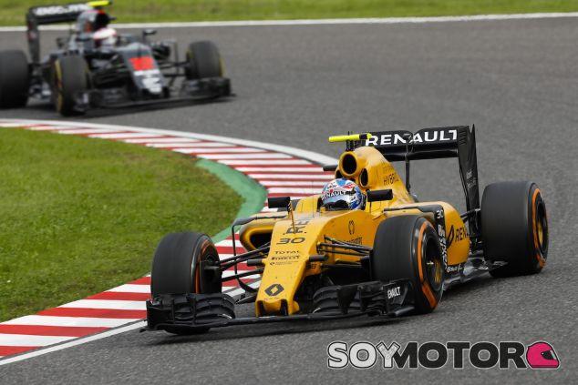 Jolyon Palmer en Suzuka - LaF1