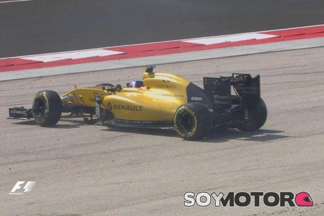 Palmer perdió los puntos por un trompo - LaF1