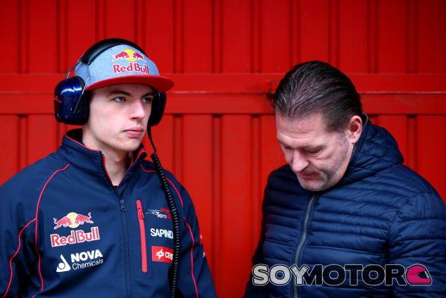 Max y Jos Verstappen - LaF1.es