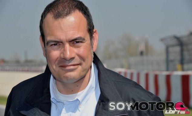Josep Lluís Merlos, responsable de las retransmisiones en MovistarF1