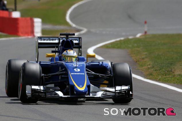Marcus Ericcson en Silverstone - LaF1.es