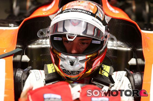 Jules Bianchi en el Gran Premio de China - LaF1