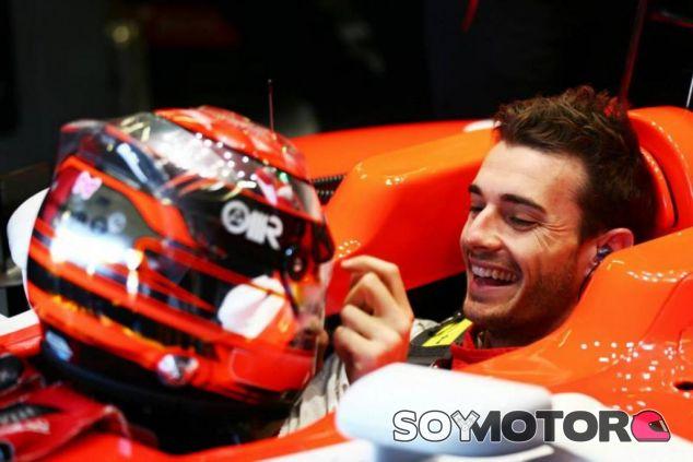 Jules Bianchi disfrutaba con un volante entre sus manos, y nosotros con su talento - LaF1