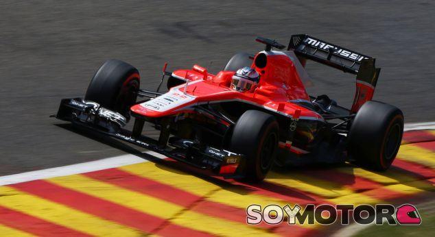 Jules Bianchi en el GP de Bélgica F1 2013 - LaF1