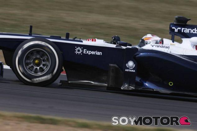 Daniel Juncadella durante los tests de jóvenes pilotos del año pasado. Rodó con Williams - LaF1