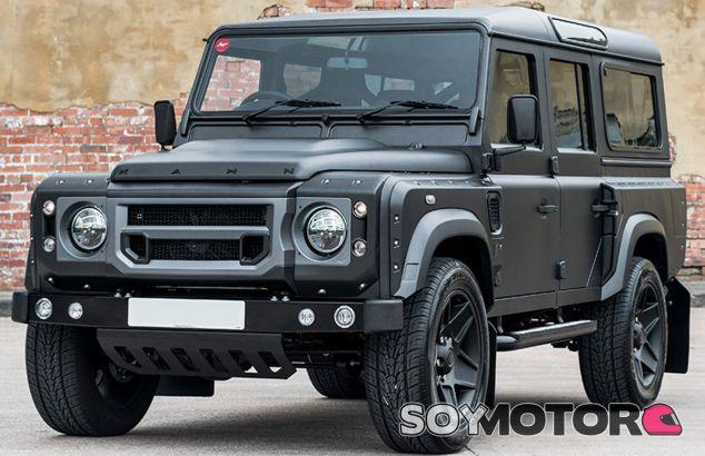 Este es el resultado final de la preparación de Project Kahn sobre el Land Rover Defender - SoyMotor