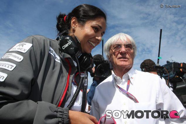 Bernie Ecclestone ha vuelto a arremeter contra la mujer piloto - LaF1