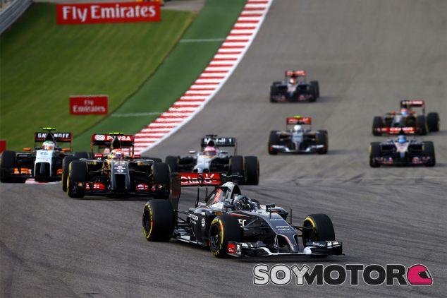 Adrian Sutil en el Gran Premio de Estados Unidos - LaF1