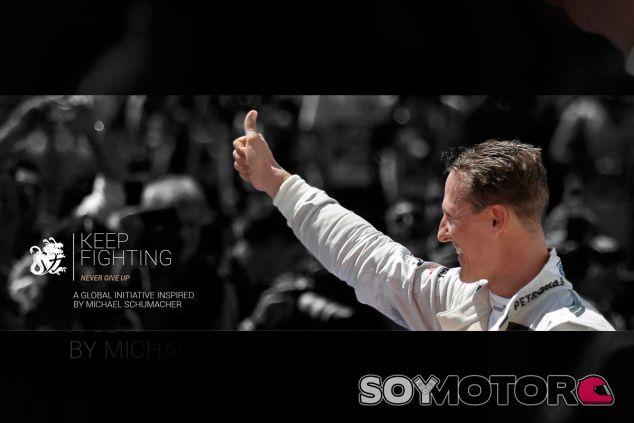 Keep Fighting, la nueva iniciativa de los Schumacher - SoyMotor