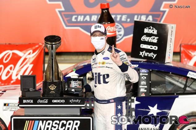 Nascar: Keselowski gana en la Coca-Cola 600 de Charlotte