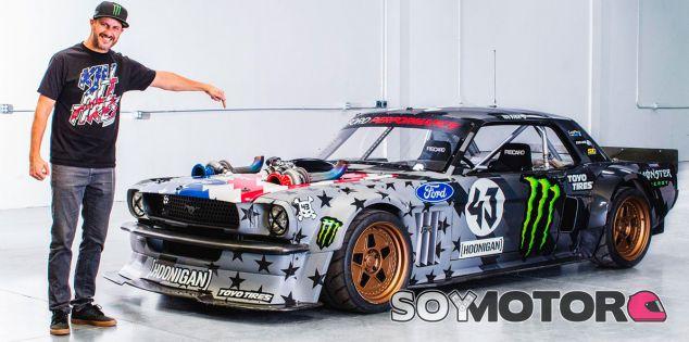 Ken Block con el Ford Mustang Hoonicorn V2 - SoyMotor.com