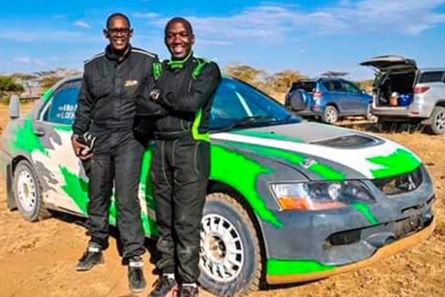 El jefe del gabinete del presidente de Kenia correrá el Rally Safari