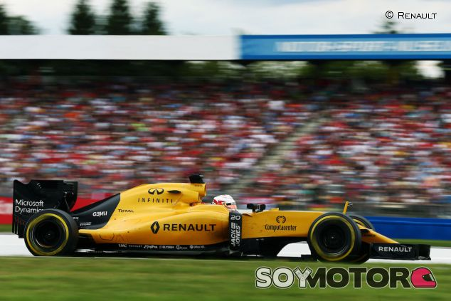 Kevin Magnussen en Hockenheim - LaF1