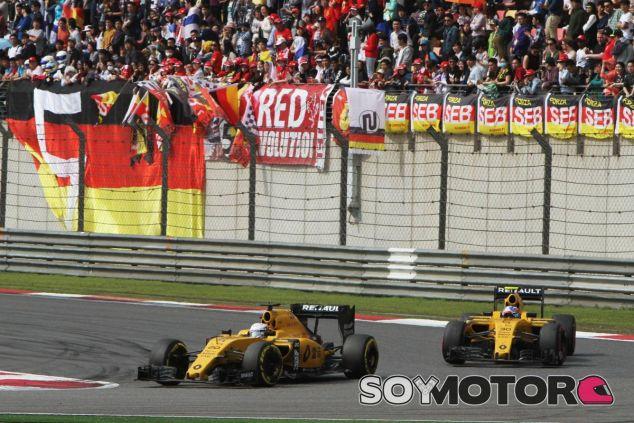Renault está al fondo de la parrilla esta temporada - LaF1