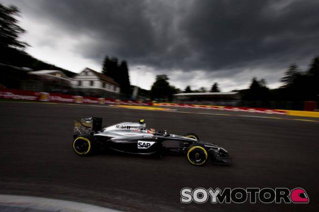 Kevin Magnussen en Bélgica - LaF1