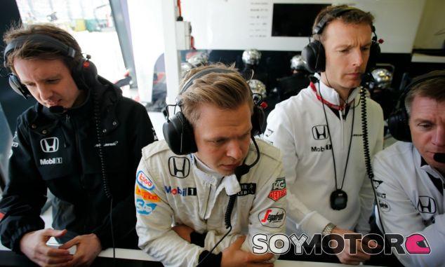 Magnussen recuerda su paso por McLaren - LaF1