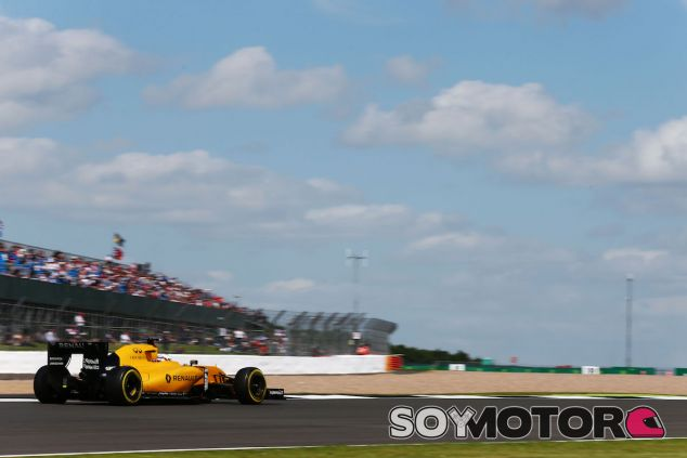 Kevin Magnussen en Silverstone - LaF1
