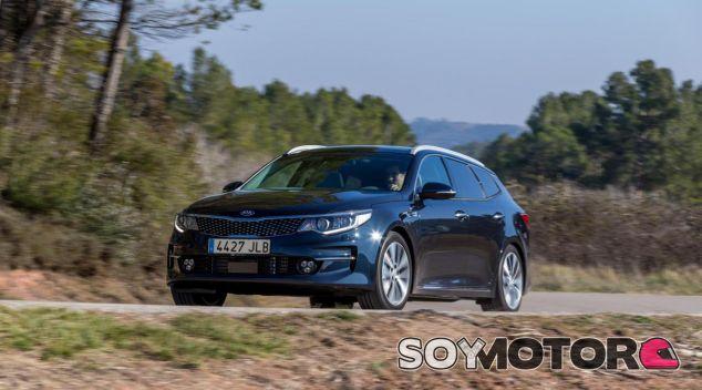 El Kia Optima Sportswagon es la versión familiar de la berlina de tamaño medio de la marca - SoyMotor