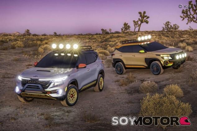 Kia Seltos X-Line: 'concepts' de mismo origen y carácter diferente - SoyMotor.com