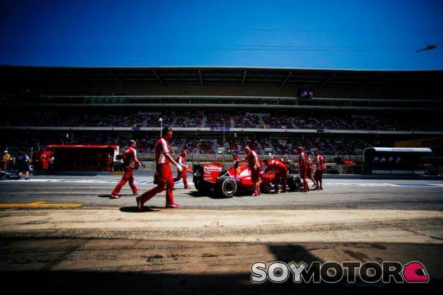 Kimi Raikkonen en Barcelona - LaF1.es