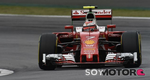 Kimi Räikkönen durante el GP de Brasil - LaF1