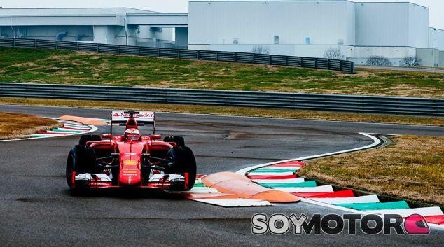 Räikkönen rueda con el Ferrari SF15-T en Fiorano - SoyMotor
