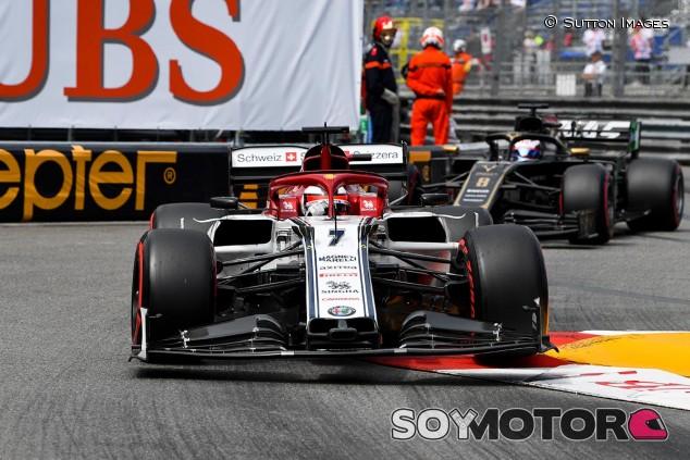 Kimi Räikkönen en los Libres del GP de Mónaco F1 2019 - SoyMotor