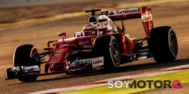 Kimi Räikkönen en los test de Barcelona - LaF1