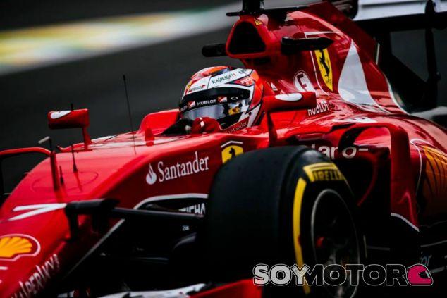 Räikkönen completa la segunda fila monopolizada por Ferrari - LaF1