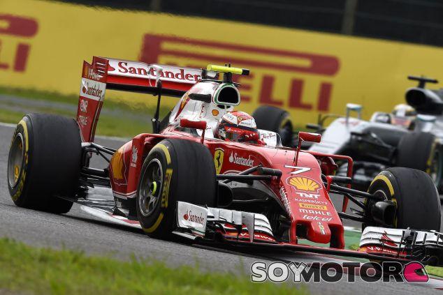 Kimi Raikkonen durante la carrera en Suzuka - LaF1