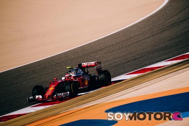 Kimi Räikkönen acabó la carrera de Baréin en segundo lugar - LaF1