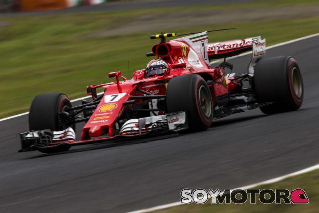 Räikkönen en Suzuka - SoyMotor.com