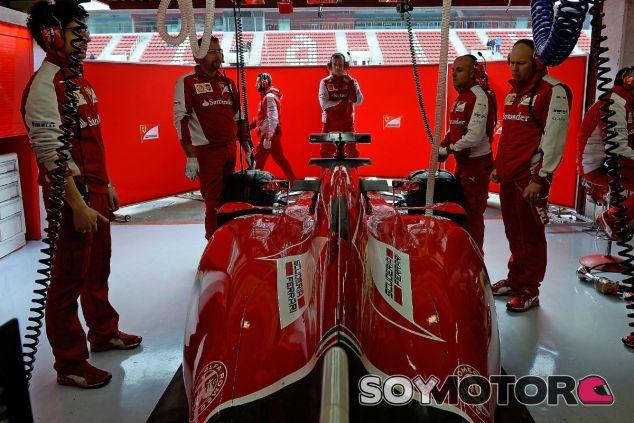 Kimi Räikkönen, hoy en el Circuit de Barcelona-Catalunya - laF1