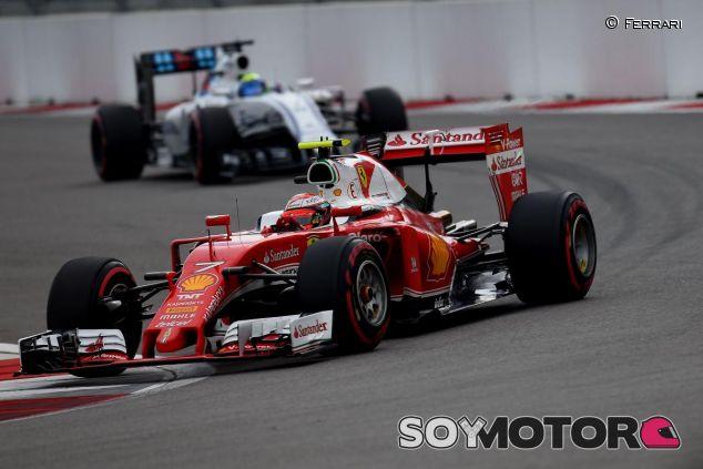 Räikkönen termina en el podio del Gran Premio de Rusia - LaF1