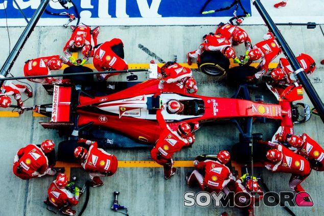 La actuación de Räikkönen no convenció a su jefe - LaF1