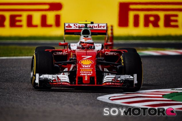 Kimi Raikkonen en Suzuka - LaF1