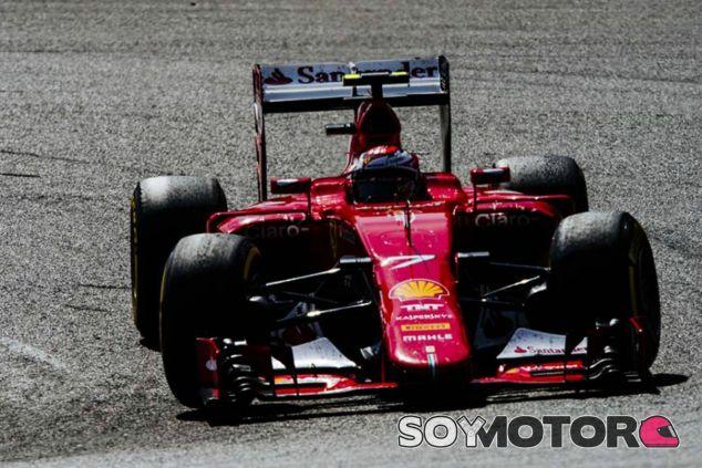 Räikkönen ha perdido la batalla con Vettel - LaF1