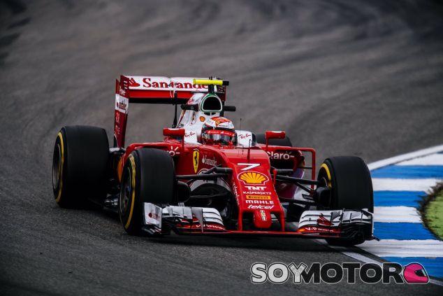 Kimi Raikkonen en Hockenheim - LaF1