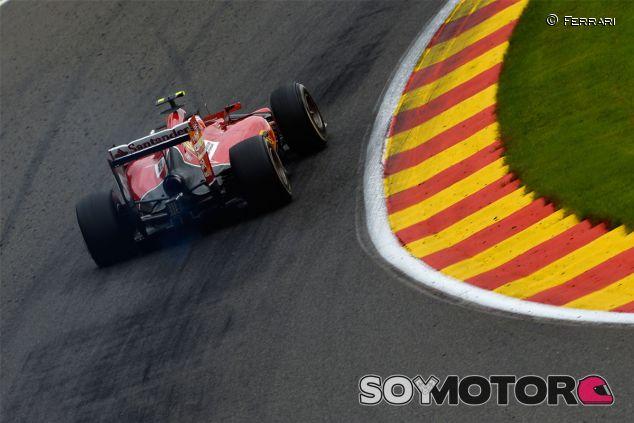 Kimi Räikkönen en Bélgica - LaF1