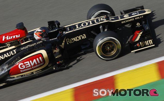 Kimi Räikkönen ayer en Spa-Francorchamps - LaF1