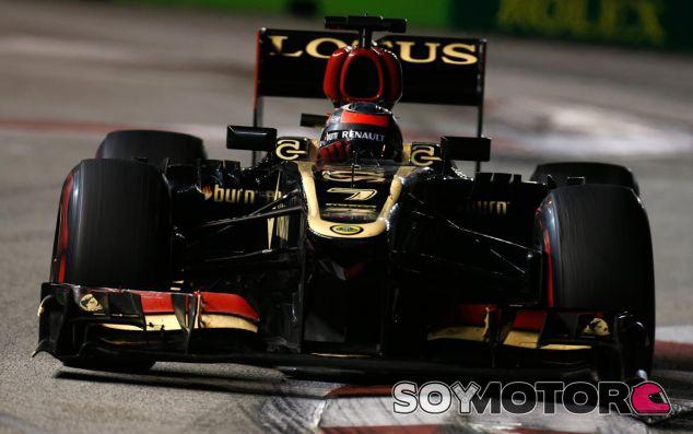 Kimi Räikkönen en el GP de Singapur - LaF1