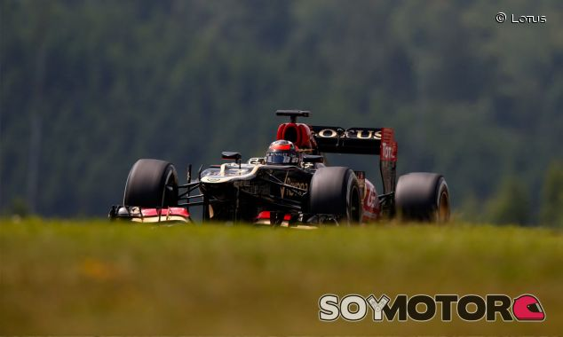 Lotus en el GP de Alemania F1 2013: Domingo