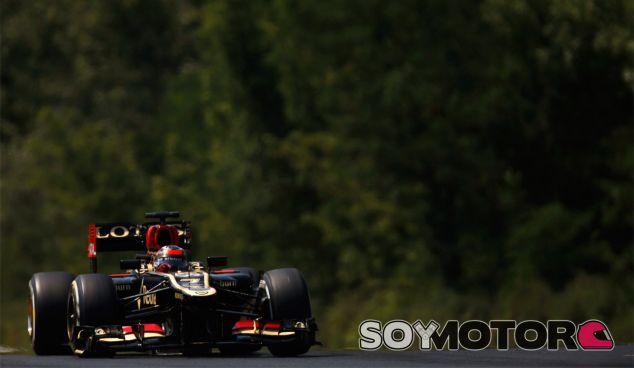 Kimi Räikkönen en Hungría