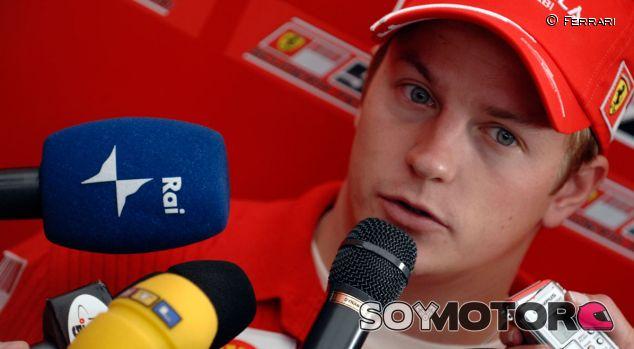 Kimi Räikkönen en 2007 como piloto Ferrari - LaF1