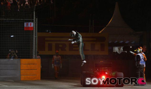 Caterham en el GP de Singapur F1 2014: Domingo