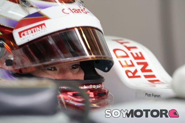 Kamui Kobayashi en 2012, cuando era piloto de Sauber - LaF1